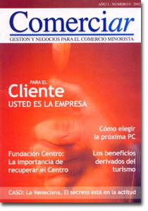 Revista Comerciar: Comercio e industria Nacional – Ediciones 2002 – 2009